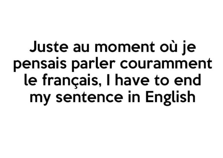 real life struggles when learning French